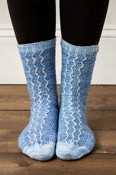 Bakewell Socks Pattern