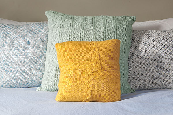 Braided Pinwheel Pillow Pattern