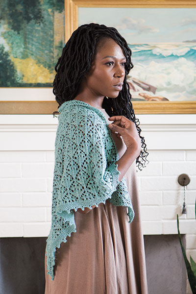 Sagebrush Shawl  Pattern