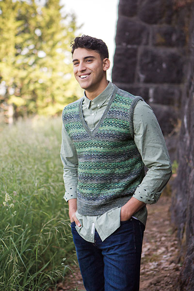 Makin Waves Vest  Pattern