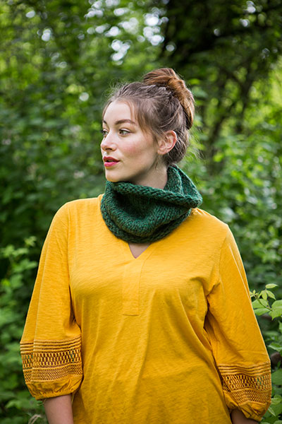 Dimple Cowl Pattern