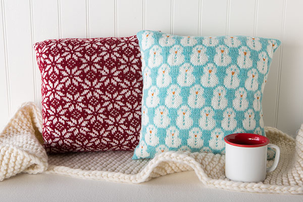 Snowy Cushions Pattern