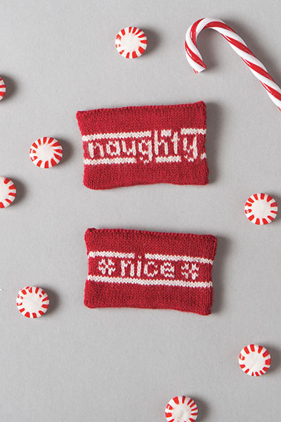 Naughty or Nice Gift Card Holders Pattern