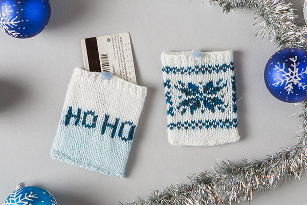 Holiday Card Holders Pattern