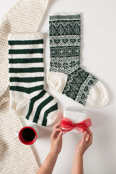 Main Attraction Stockings Pattern