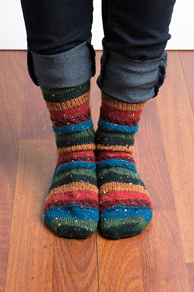 Sampler Socks Pattern