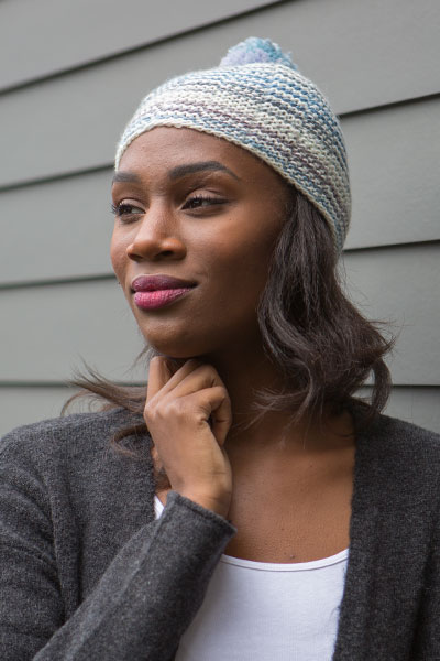 Shifting Stripes Hat Pattern