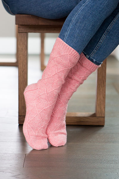 Hot Toddy Socks Pattern