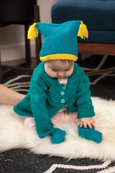 Rocky Road Tassel Hat & Socks Pattern