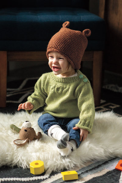 Bumpy Bear Hat Pattern