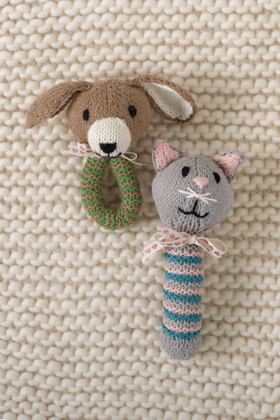 Puppy & Kitten Toys Pattern