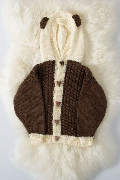 Basketweave Animal Hoodie Pattern