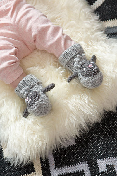 Sheepy Booties Pattern