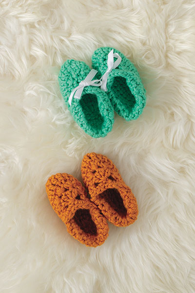 Marigold Booties Pattern