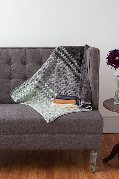 Misty Mountains Blanket Pattern