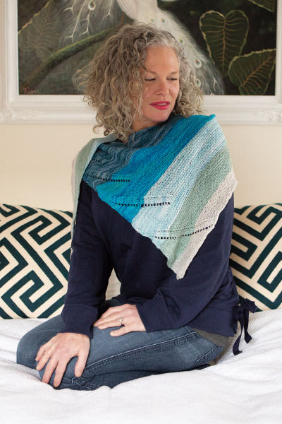 Breakers Shawlette Pattern