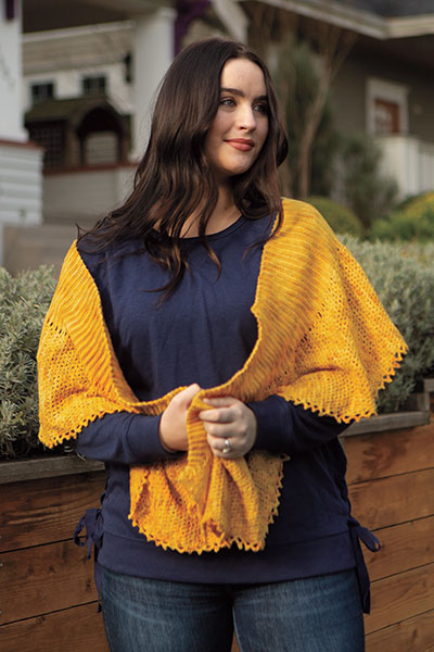 Yuri Shawl Pattern