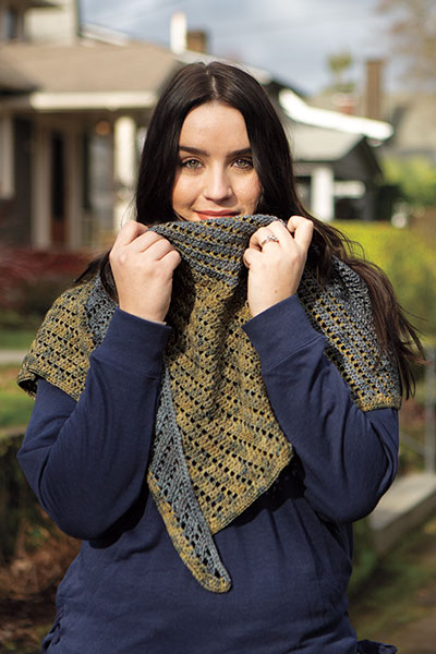 Boothbay Harbor Shawlette Pattern