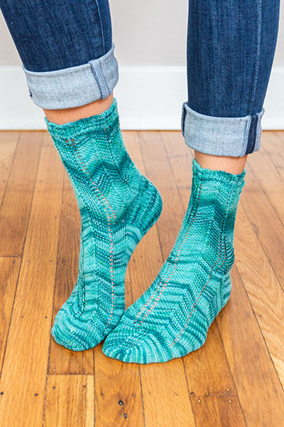Change of Scenery Socks Pattern