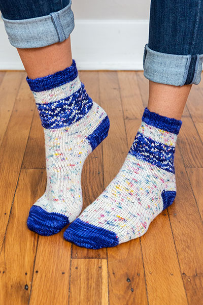Straight Arrow Socks Pattern