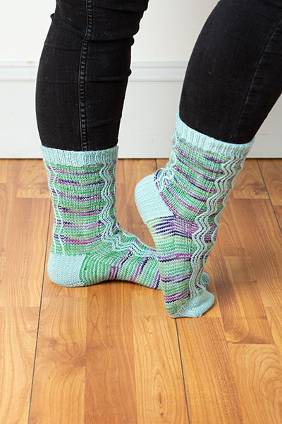 Milky Way Socks Pattern