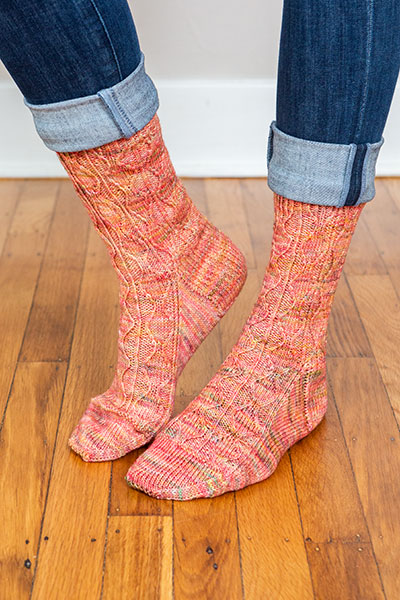 Ebb & Flow Socks Pattern