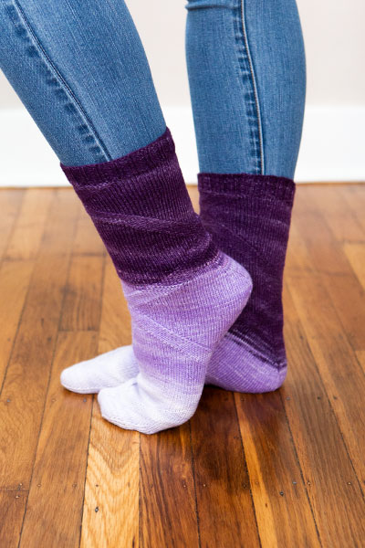 Mobius Socks Pattern