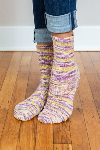 Slanted Socks Pattern
