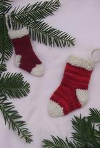 Mini Stocking Ornament Pattern