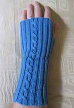Comfy Fingerless Mittens Pattern