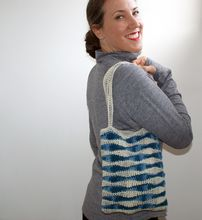 Ocean Waves Crochet Bag Pattern Pattern