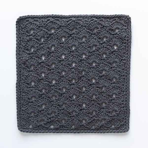 Jazz Age Crochet Washcloth Pattern
