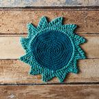 Starflower Dishcloth Pattern