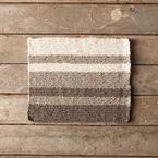 Neutral Stripes Dishcloth Pattern
