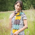 Seaside Promenade Crochet Scarf Pattern