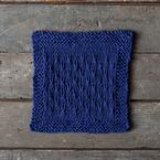 Double V Dishcloth Pattern