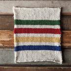Hudson's Bay Inspired Dishcloth Pattern