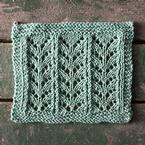 Ricochet Lace Dishcloth Pattern