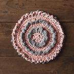 Misty Rose Crochet Dishcloth Pattern Pattern