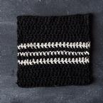 Cookies & Cream Crochet Dishcloth Pattern