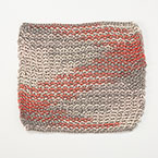 Woven Lines Dishcloth Pattern