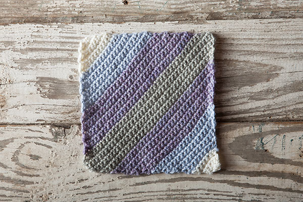Kitty-Corner Crochet Square Pattern