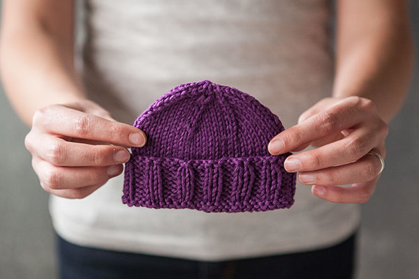 Calming Baby Knit Hat Pattern