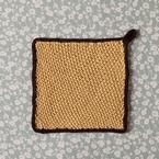 Angkor Wat Dishcloth Pattern