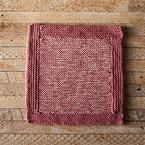 Log Cabin Dishcloth Pattern
