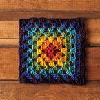 Granny's Rainbow Dishcloth Pattern