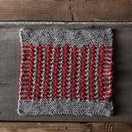Bicolor Tweed Dishcloth Pattern