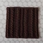 Cabled Spa Cloth Pattern
