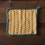 Caerphilly Dishcloth Pattern