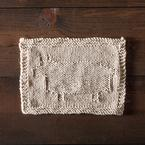 Happy Sheep Dishcloth Pattern